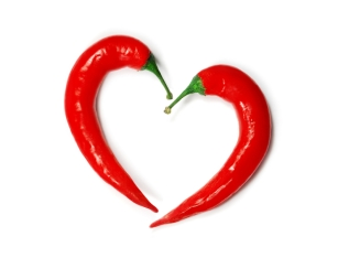 Love hot peppers